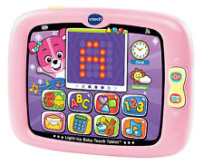 Vtech Light Up Baby Touch Tablet Learning Toddler Girl Toy Music Educational New