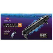 Coralife Turbo Twist UV Sterlizer 12x 36W for aquariums up to 500 gallons