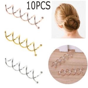 Barrette Metal Alloy Spiral Hairpins Hair Grips Headwear Hair Clips