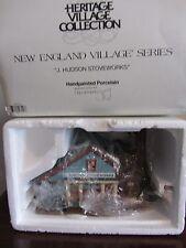Dept 56 New England Village J. Hudson Stoveworks #56574
