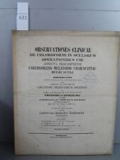 Henschel-Zehdenick Observationes Clinicae Monoyer ophtalmologie optique médecine
