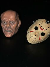 "NECA Friday The 13th Part 3 3D ""Jason Voorhees"" Head And Mask ONLY"
