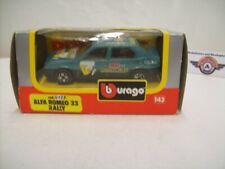 """Alfa Romeo 33 Rally #1 """"transafricana"""" 1984, Bburago 1:43 (Italy)"""