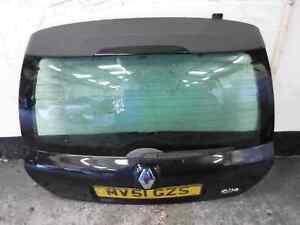 Renault Clio MK2 2001-2006 Rear Boot Tailgate Black 676