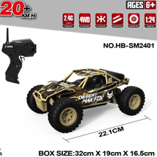 20KM/H RC RADIO CONTROL CARS 4WD MONSTER TRUCK BUGGY RECHARGEABLE 2.4GHZ KIDS