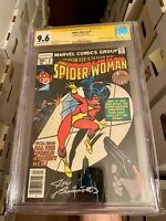 SPIDER-WOMAN 1 CGC SS 9.6 JOE SINNOTT! NEW ORIGIN SPIDER-WOMAN MARV WOLFMAN
