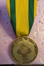 NATIONAL GUARD MEDAL,NEW MEXICO,OUTSTANDING SERVICE  ,LARGE,DONDERO HM,NO BROOCH