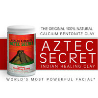 Aztec Secret Indian Healing Clay Deep Pore  Beauty Face Mask 1 lb Or 2 lb Jar