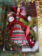🇪🇺 Queen Of Hearts Barbie Collector Alice In Wonderland Silver Label NRFB