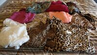 Mixed Lot of 11 Misses Shirts and Sweaters size Large