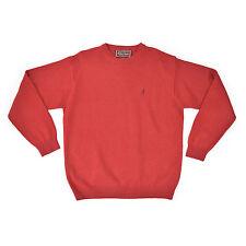 Marlboro Classics Homme Pull L 52 laine rouge Pull Sweat Tricot Knit Jumper