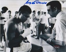 ANGELO DUNDEE Signed Autograph Auto 8x10 Photo Picture PSA Muhammad Ali Trainer