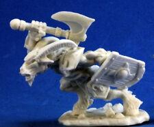 1 x HOMME-BETE CHAMPION - BONES REAPER figurine miniature jdr beastman axe 77254