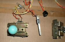 JOUST - Williams Arcade - (2) TWO-WAY JOYSTICKS and HARNESS w/ SWITCHES