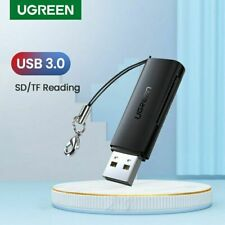 Ugreen SD Card Reader USB 3.0 2.0 Memory Card Adapter to Micro SD TF for Windows