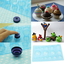 Plastic Paper Quilling Mould Half Ball Domes DIY Paper Craft Tool 13*20cm WB