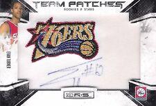 Evan Turner 2010-11 Panini Rookies & Stars Autograph Team Patch 277/455 RC Auto