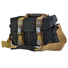 Large Camera Shoulder Bag Case For DSLR Cameras and Accessories (Black)