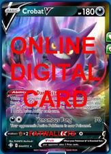 1X Crobat V 044/072 Shining Fates Pokemon Online Digital Card