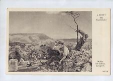 C9997cgt Art The Stonebreaker by J Brett vintage postcard