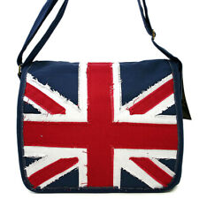 England Flag Denim Messenger Bag Union Jack Canvas Casual Body Cross Bag