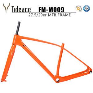 OEM Rigid Carbon Mountain Bike Frame Disc 29er/27.5er 142*12 or 135*9 compatible