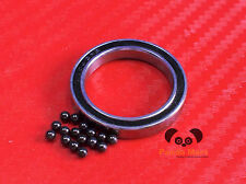2pc 6706-2RS (30x37x4 mm) Hybrid CERAMIC Ball Bearing Bearings 6706RS 30 37 4