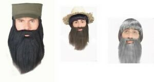 Complet Barbe Motard Pirate Biblique Adultes Hommes Halloween Costume Noël
