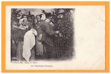BOURG-en-BRESSE (01) BAPTEME local costumé début 1900
