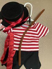 New ListingNew! Rare Build A Bear Halloween Costume France French Gondola Guide Venice Nwot