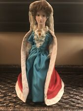 Franklin Mint Heirloom Porcelain Queen Mary II Doll