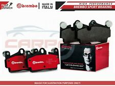 FOR AUDI SEAT SKODA VW REAR AXLE GENUINE ORIGINAL BREMBO BRAKE PADS SET P85073