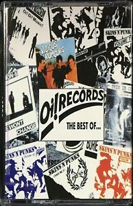Oi! RECORDS The Best Of... Punk Rock 1995 MALAYSIA CASSETTE RARE NEW SEALED