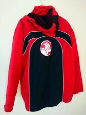 Vintage Official Holden Racing Team Red Black Wind Cheater Hoodie Jacket Sz L