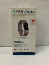 Fitbit Charge 2 Rose Gold Heart Rate Activity Tracker L Lavender Works No Button