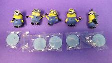 Despicable Me 2 - Minion Set of 5 - Minion Surprise-Carl Dave Tom Stuart Tim-New