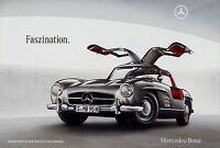 Mercedes Classic Museum Prospekt Faszination 2009 12/09 Autoprospekt brochure