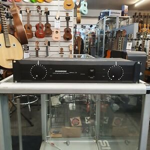 Samson Servo-170 Studio Amplifier Spares or repairs One channel not working