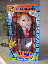 1988 PEE WEE Matchbox BILLY BALLONEY (NEW in original box) Puppet like action