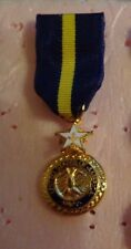 US NAVY, NAVY DISTINGUISHED MEDAL ,MINIATURE DRESS SIZE