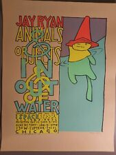 Animals & Objects In & Out of Water 2007 Event - Jay Ryan Print Poster S/N