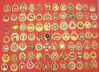 VINTAGE COLLECTABLE HORSE BRASSES - CHOOSE FROM LIST ALL WITH PHOTO'S  LOT S2