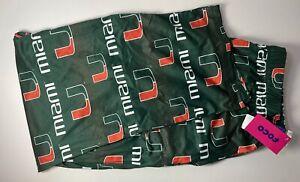 Miami Hurricanes Men's XL 40-42 NCAA SOFT Pajama Pants NWT
