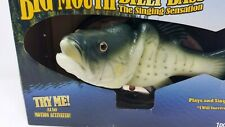 Gemmy Big Mouth Billy Bass Singing Fish Sing I Will Survive Tested Original Box
