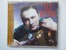 TEX RITTER <>  Famous Country Music Makers  <> NM (CD)