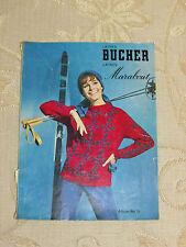 Vintage Laines Bucher Laines Marabout  Magazine No.15 - 1960's