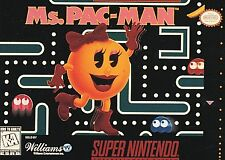Ms. Pac-Man (Super Nintendo Entertainment System, 1996)Factory Sealed!!!!