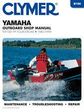 Clymer Yamaha Outboard Shop/Repair Manual, 9.9-100 HP 4-stroke 1985-1999 (B788)