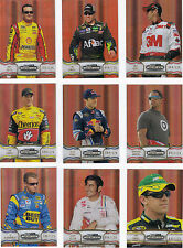2011 Showcase GOLD PARALLEL #22 Juan Pablo Montoya BV$6.25!! #001/125! YES, #001