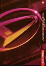 Daihatsu Cuore Accessories 1999-2001 UK Market Foldout Sales Brochure
